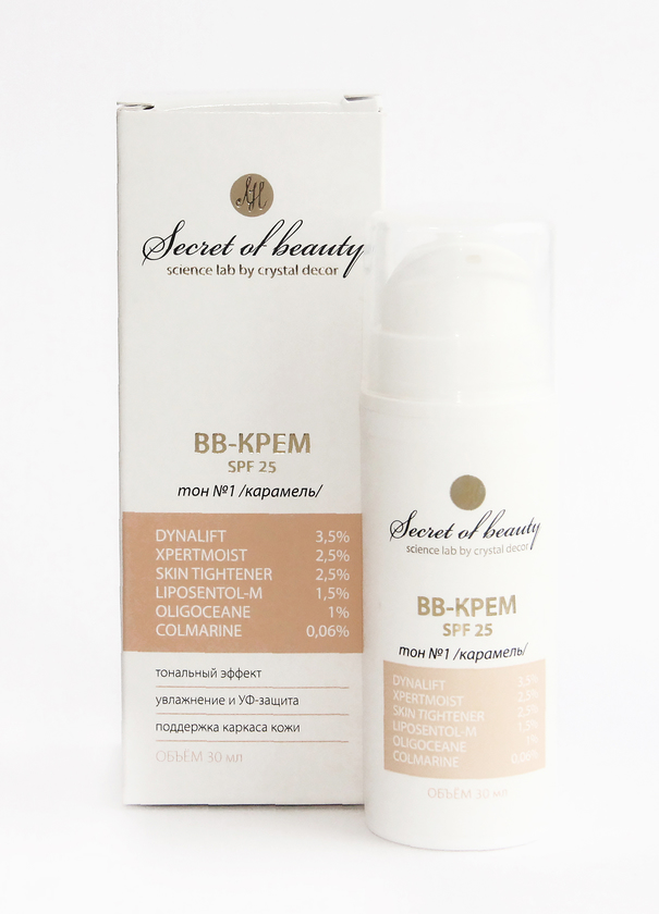 BB-крем Secret of beauty, 30 мл